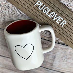 "🆕 RAE DUNN Valentine ❤️ mug ""<3"" heart"